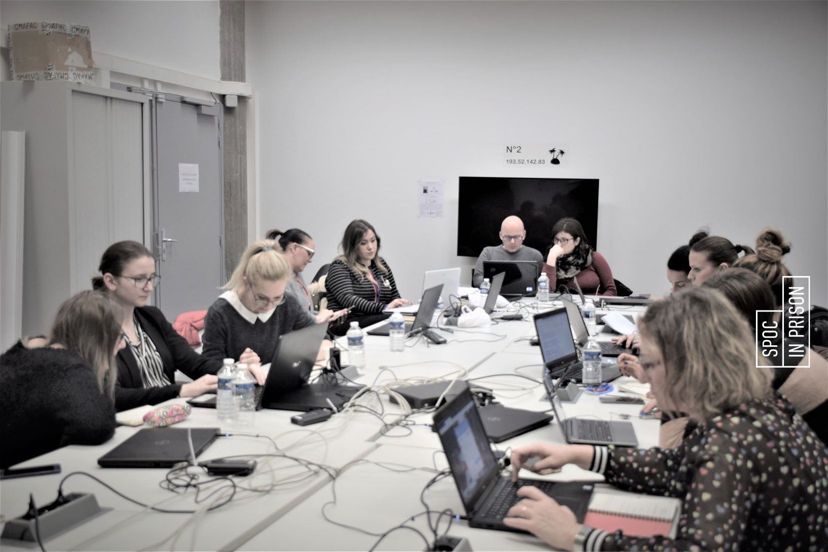 Course Image Erasmus SPOC training activity participants